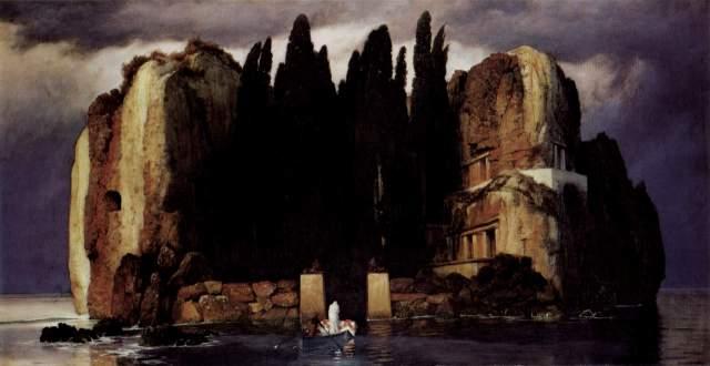 La isla de los muertos, Armold Böcklin